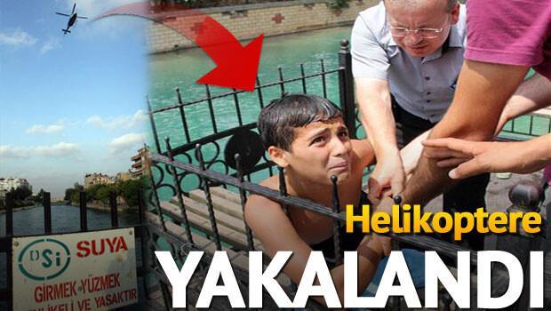 Adana'da polisten hava destekli operasyon!