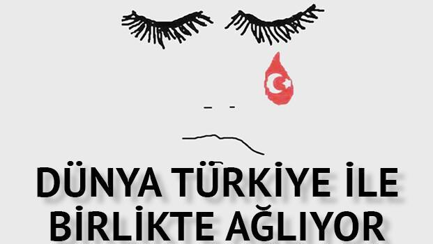 Atatürk Havalimanı saldırısı sonrası Türkiye'ye destek yağıyor