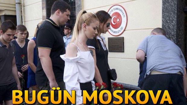 Ruslardan Türk büyükelçiliğine çiçek