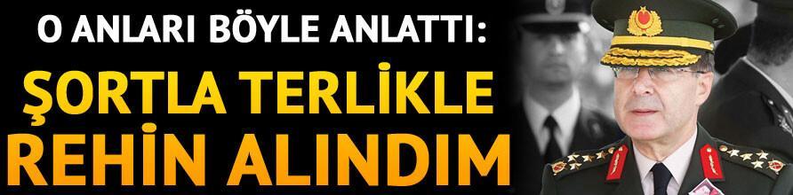 Erdoğan istifasını istemişti: Şortla terlikle rehin alındım