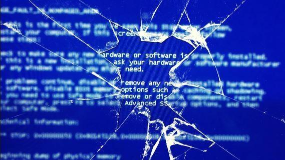5 katlı bina 'mavi ekran' hatası verdi!