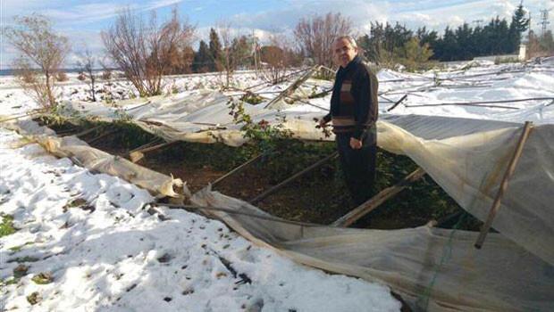 Seraları Ege de kar Akdeniz de sel vurdu