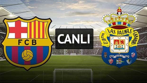Barcelona - Las Palmas Arda Turan ilk 11'de