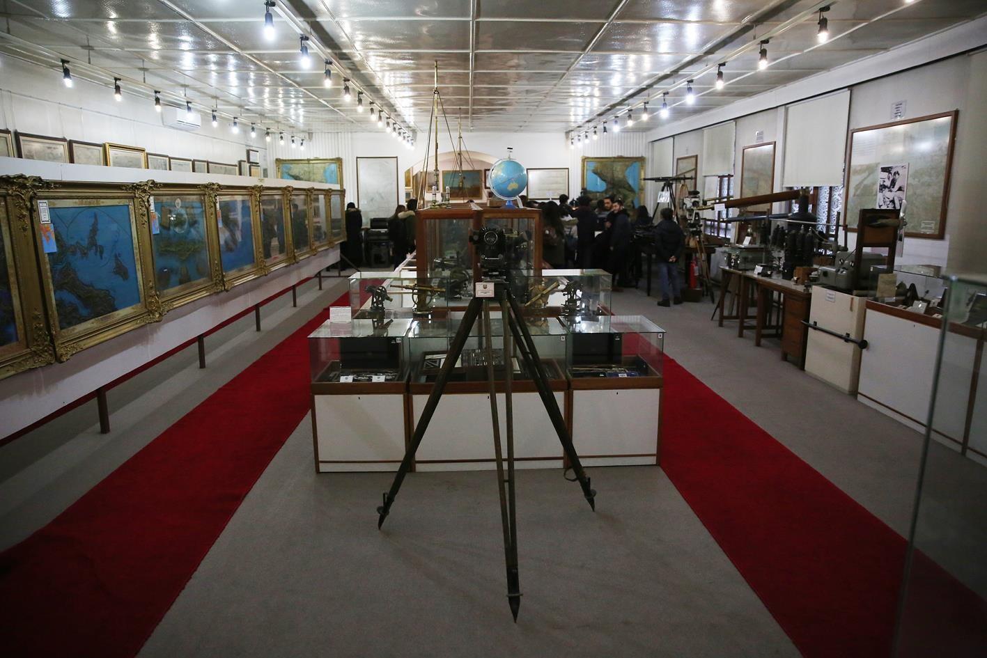 Ankara nın ilk planı Haritacılık Müzesi nde