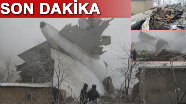 SON DAKİKA Türk kargo uçağı düştü 32 kişi hayatını kaybetti