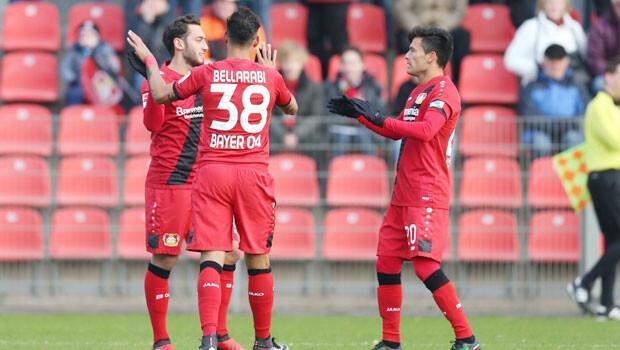 Leverkusen Bundesliga nın ikinci yarısına hazır