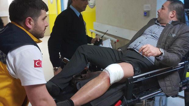 Samsun'da iş adamına silahlı saldırı