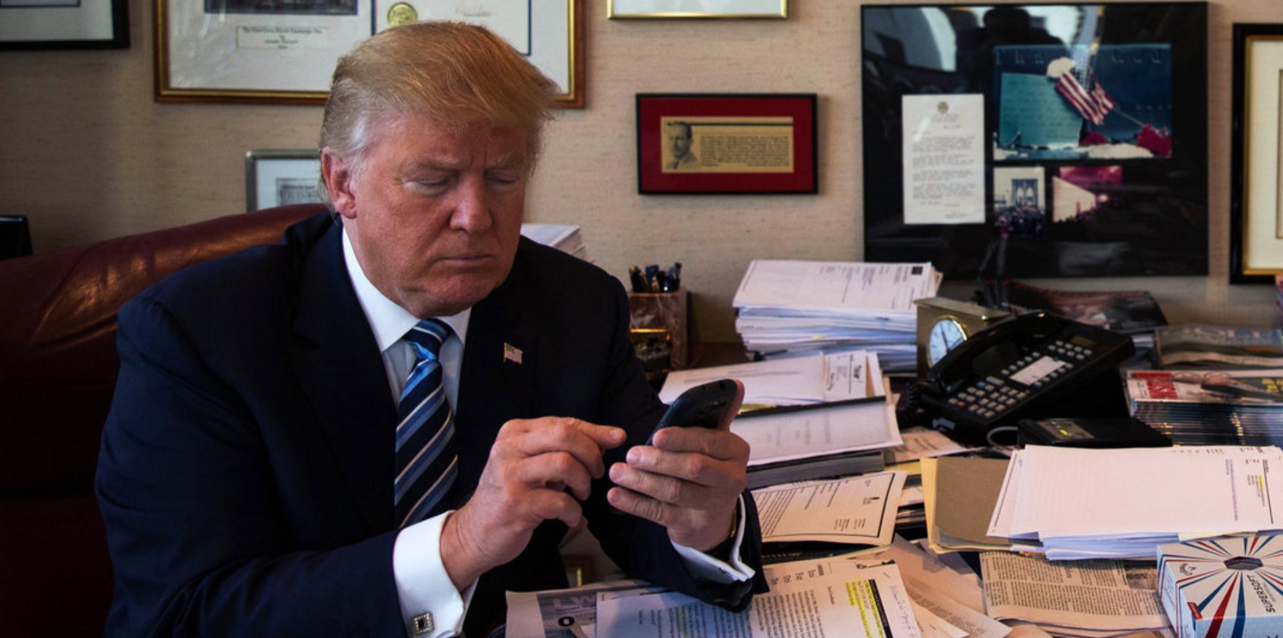 Trump quot Tweet atmaya devam edeceğim quot