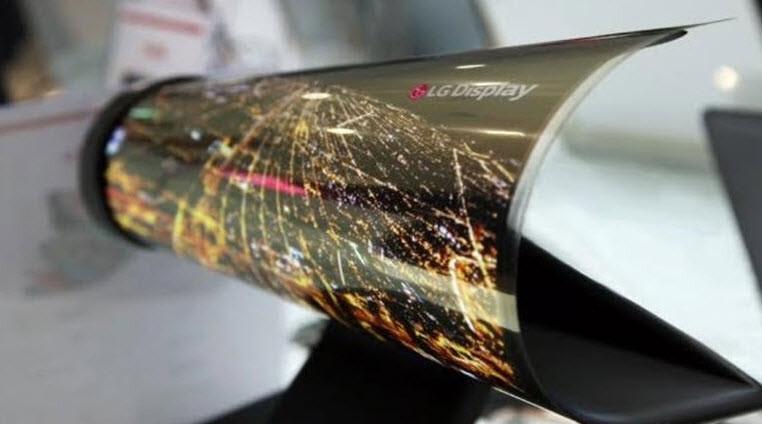 LG'den katlanabilir ekranlı telefon