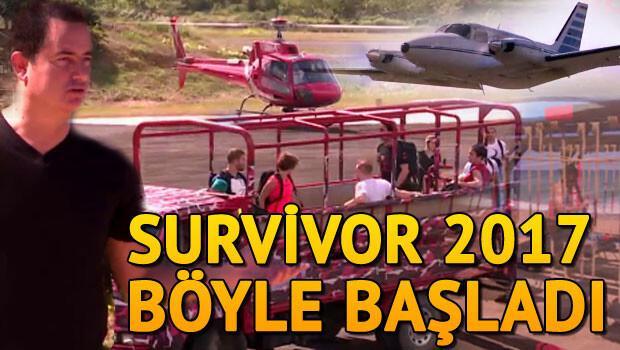 Survivor 2017 bu akşam başlıyor İşte ünlüler ve gönüllüler takımı