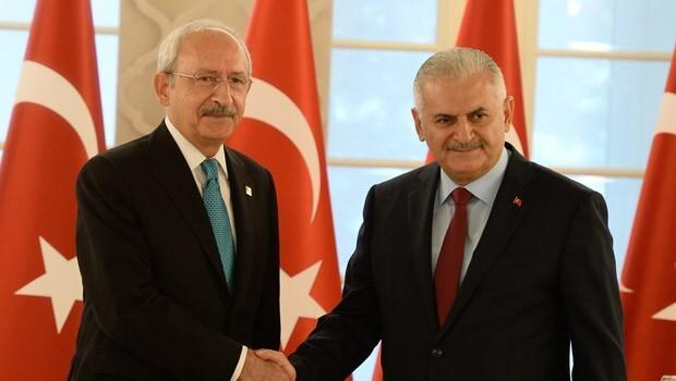 Kılıçdaroğlu'ndan Başbakan Yıldırım'a geçmiş olsun telefonu