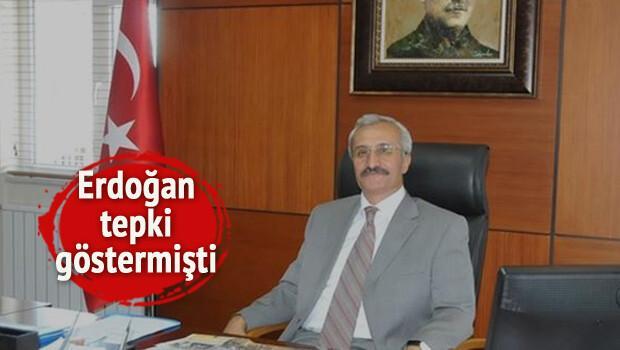 Erdoğan'ın tepki gösterdiği kaymakamın yeri değişti