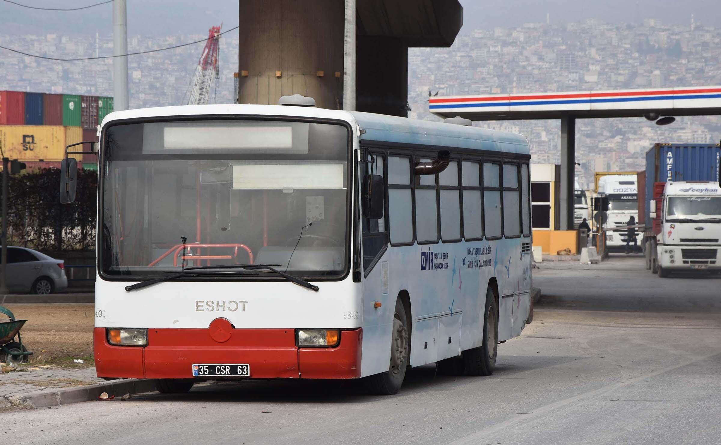 Soğuğa karşı otobüste sobalı önlem