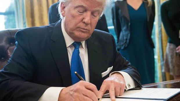 ABD Başkanı Trump Dakota ve Keystone boru hatlarını onayladı