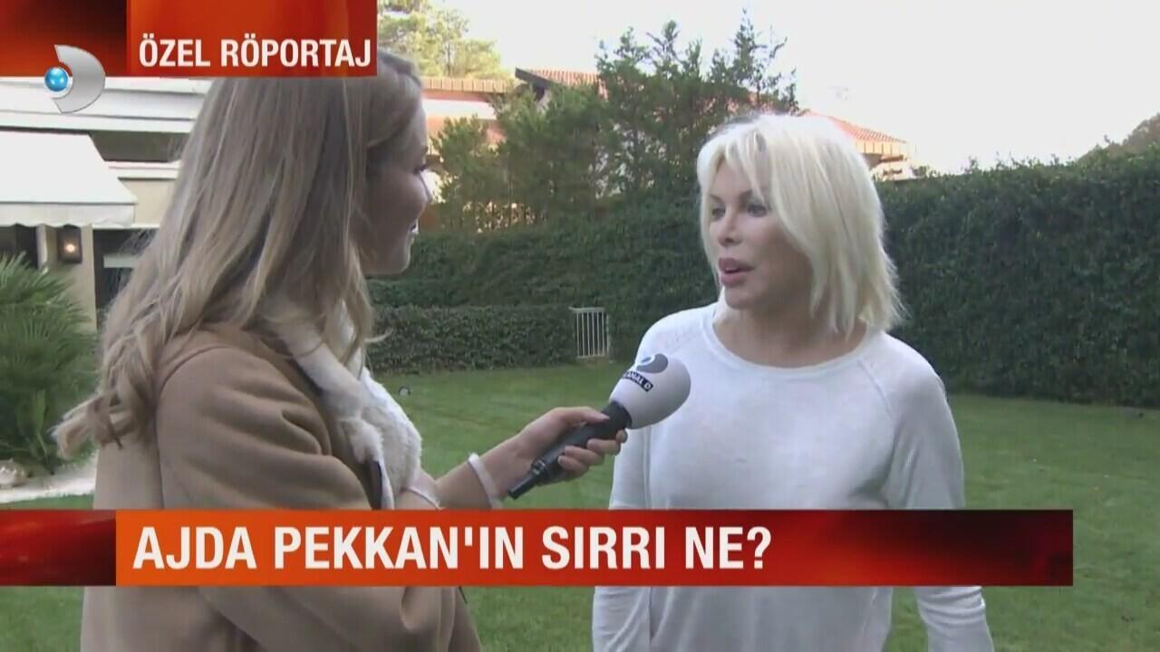 Ajda Pekkan gençlik sırrını açıkladı