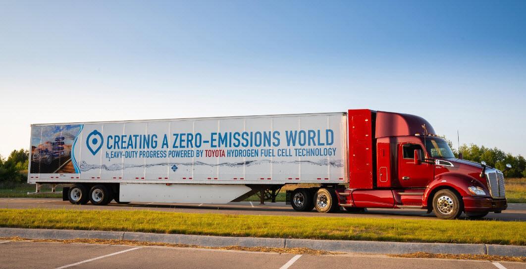 Toyota'dan sıfır emisyonlu çekiciler geliyor