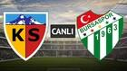 The first goal came in Kayseri! increasing the tempo of the match