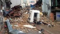 Beyoğlu'nda beş katlı iki bina çöktü