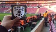 Besiktas fans were leaked to the arena!