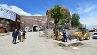 Ankara Kalesi'nde meydan hazırlığı
