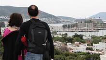 Bodrum'a turist akın etti
