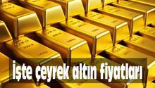 Çeyrek altın fiyatları Pazartesi günü ne kadar oldu? 25 Temmuz 2016