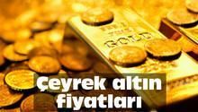 Çeyrek altın fiyatları ne kadar oldu? (İşte Kapalıçarşı'daki altın fiyatları)