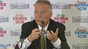 Ekmeleddin İhsanoğlu Eskişehirde konuştu