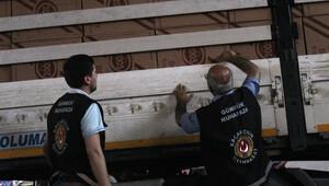 Sarp Gümrük Sahası'nda Cumhuriyet tarihinin en büyük sigara kaçakçılığı operasyonu