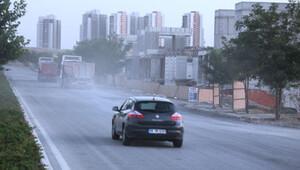 Hızlı ve damperli Hürriyet MOBESE'ye takıldı