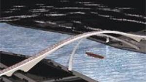 Da Vinci'nin köprüsü 504 yıl gecikmeyle Haliç'te