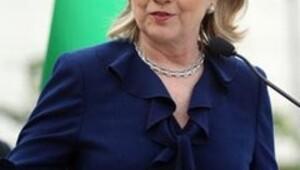 Clinton: Yaptırımlar işe yarıyor