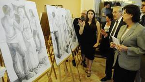 Aydın Doğan Güzel Sanatlar Lisesi'nin yıl sonu etkinliği