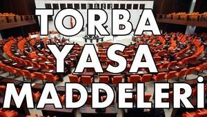 Torba Yasa Maddeleri ve İkinci Torba Yasa Gelişmeleri