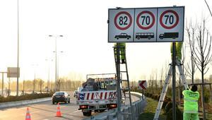 Ankara'da hız limiti 90 oldu