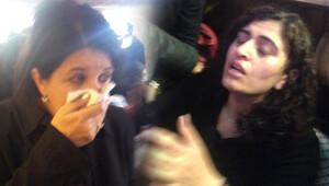 HDP'li Pervin Buldan, ve Sabahat Tuncel gazdan etkilendi