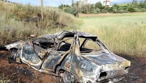Sivas'ta otomobil devrildi: 1 ölü, 3 yaralı