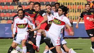 Eskişehirspor 1 - 3 Medicana Sivasspor