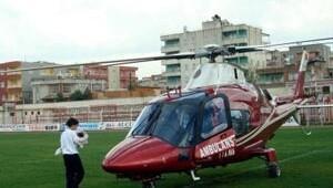 Ambulans helikopterle sevk