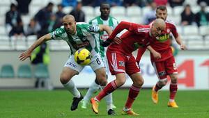Torku Konyaspor 0 - 1 Medicana Sivasspor