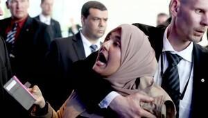 Sisi'yi protesto eden gazeteci hakkında açıklama: Yaptırım uygulanmayacak