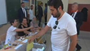 Reza Zarrab ilk kez oy kullandı