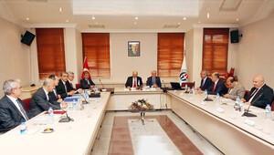 Yekta Saraç, 'özel öğrenci komisyon' toplantısında