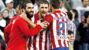 Arda'lı Atletico 24. derbide güldü