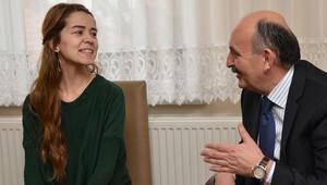 Sağlık Bakanı Refiye Yılmazı ziyaret etti