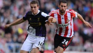 Liverpool, Suarez'in 2 gol attığı maçta Sunderland'i 3-1 mağlup etti