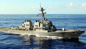 ABD savaş gemileri olimpiyatlar için Karadeniz'de