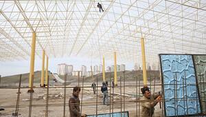 Yapracık'a kapalı pazar alanı