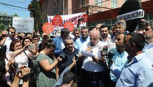 İstanbul Tıp Fakültesi'nde protesto