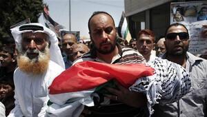 Filistin yakılan bebek için UCM'ye başvurdu